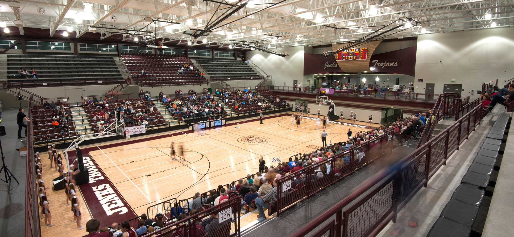 Jenks High School Frank Herald Fieldhouse