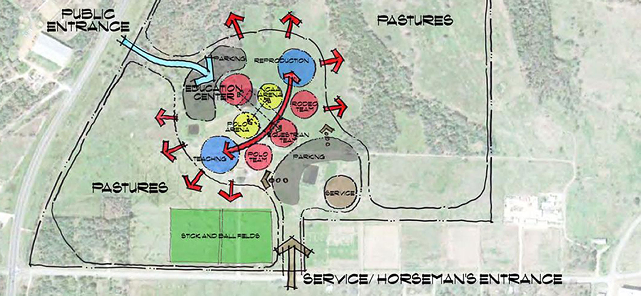 Map Of Texas Am.Gh2 Architects Texas A M Equine Initiative