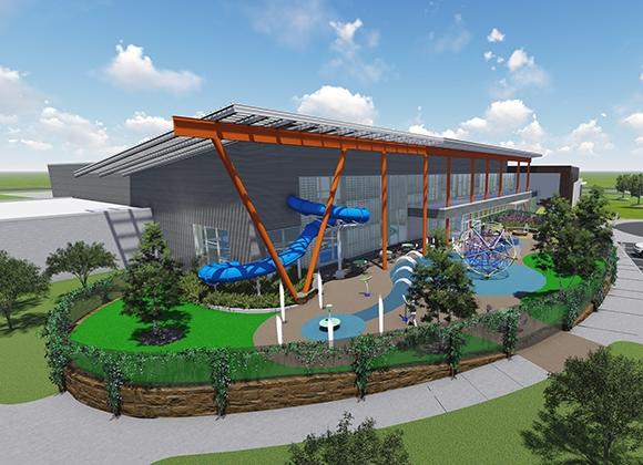 Gh2 architects portfolio health and wellness portfolio for Koi pool thornton cleveleys